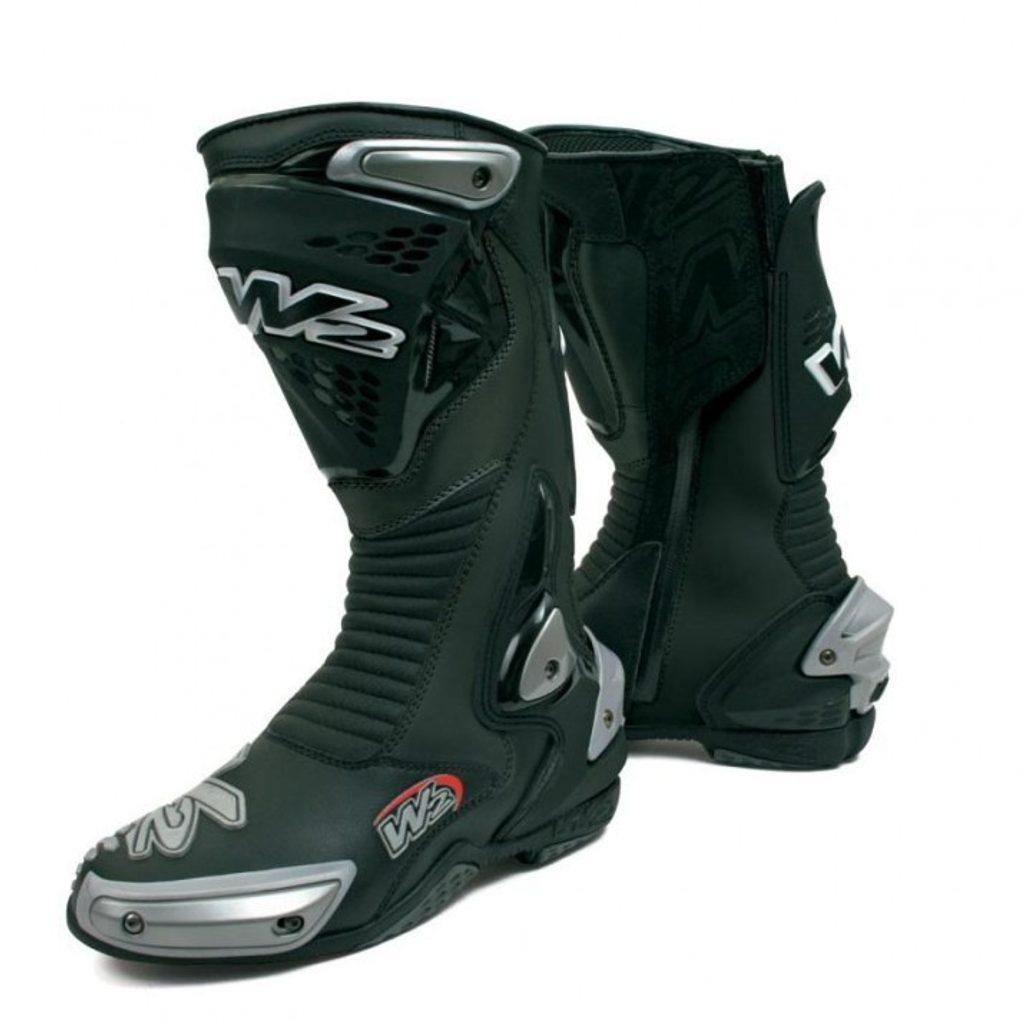Športové pánske moto topánky W2 Misano, čierne