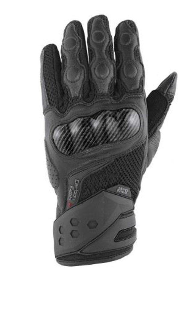 Moto rukavice IXS Carbon mesh