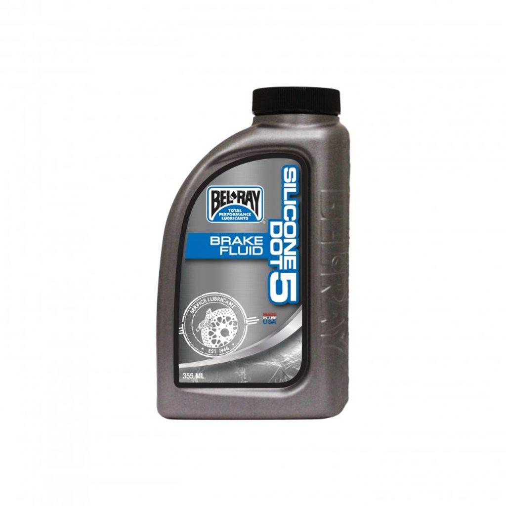 Brzdová kvapalina Bel-Ray SILICONE DOT 5 BRAKE FLUID 355 ml