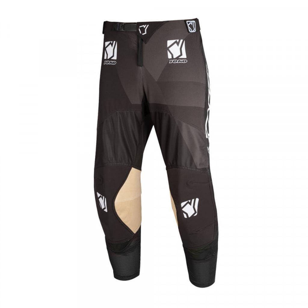 Motokrosové nohavice YOKO KISA čierna