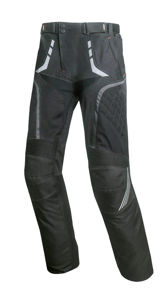 Pánske textilné moto nohavice Spark Draft, čierne
