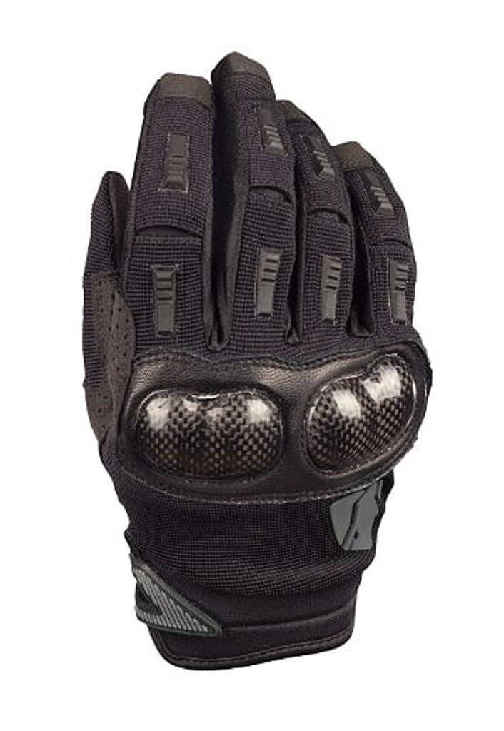 Letné rukavice YOKO STRIITTI čierno / šedé