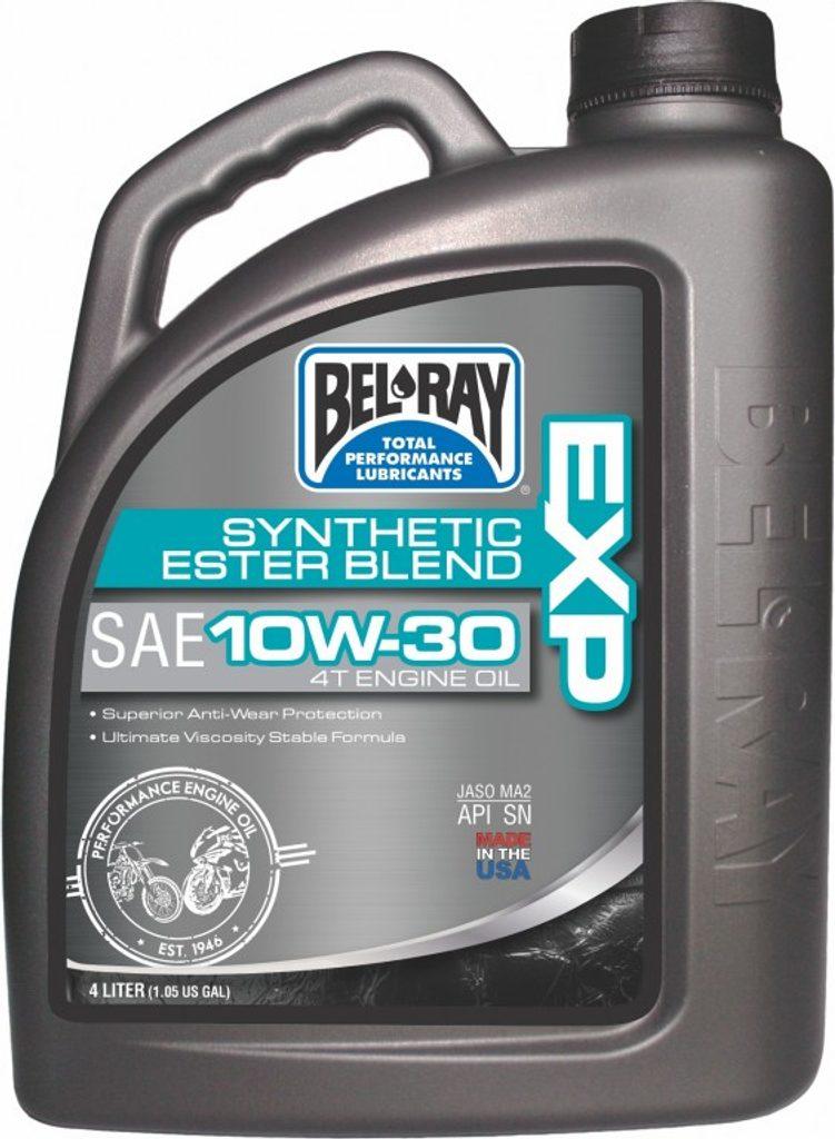 Motorový olej Bel-Ray EXP SYNTHETIC ESTER BLEND 4T 10W-30 4 l