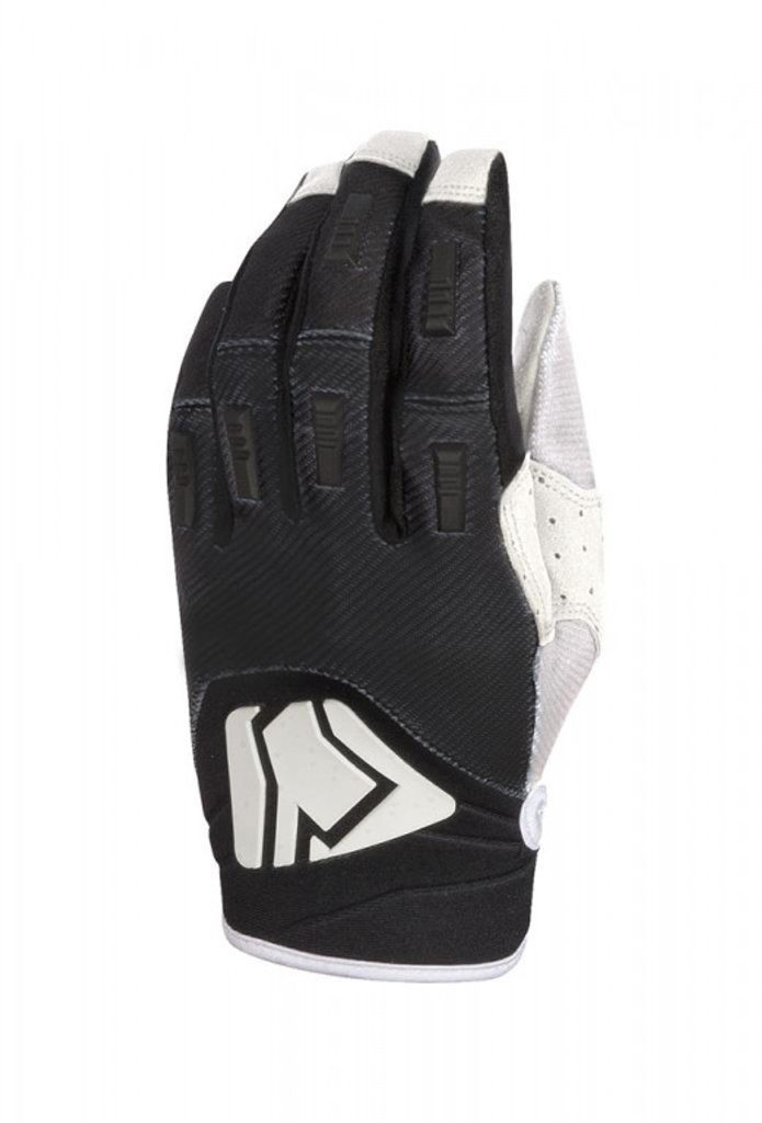 Motokrosové rukavice YOKO KISA čierno / biele