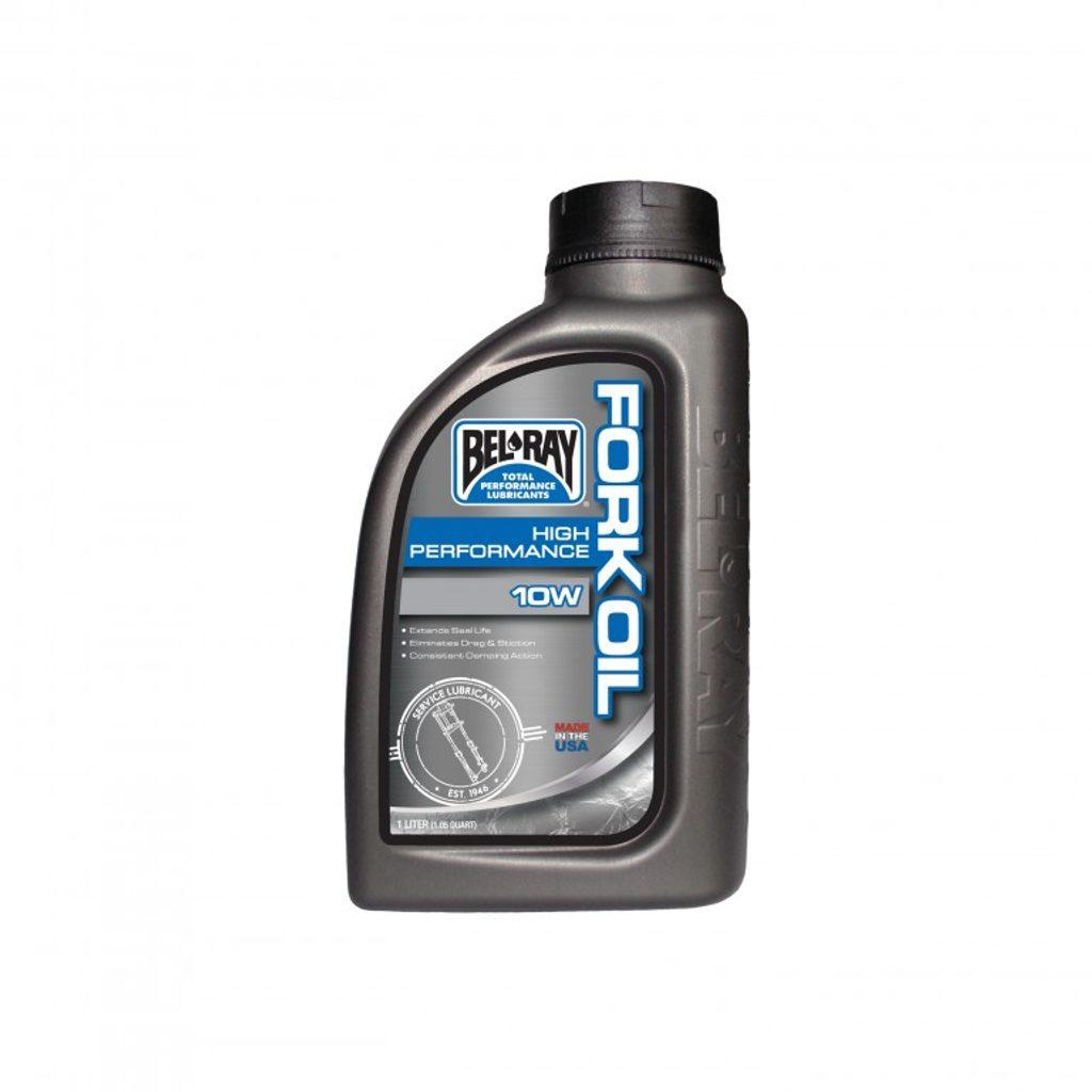 Tlmičový olej Bel-Ray HIGH PERFORMANCE FORK OIL 10W 1l