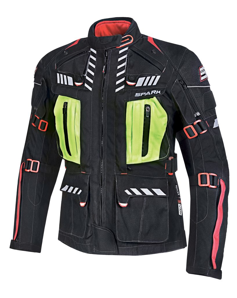 Dámska motocyklová bunda Spark Lady Expedition, Black
