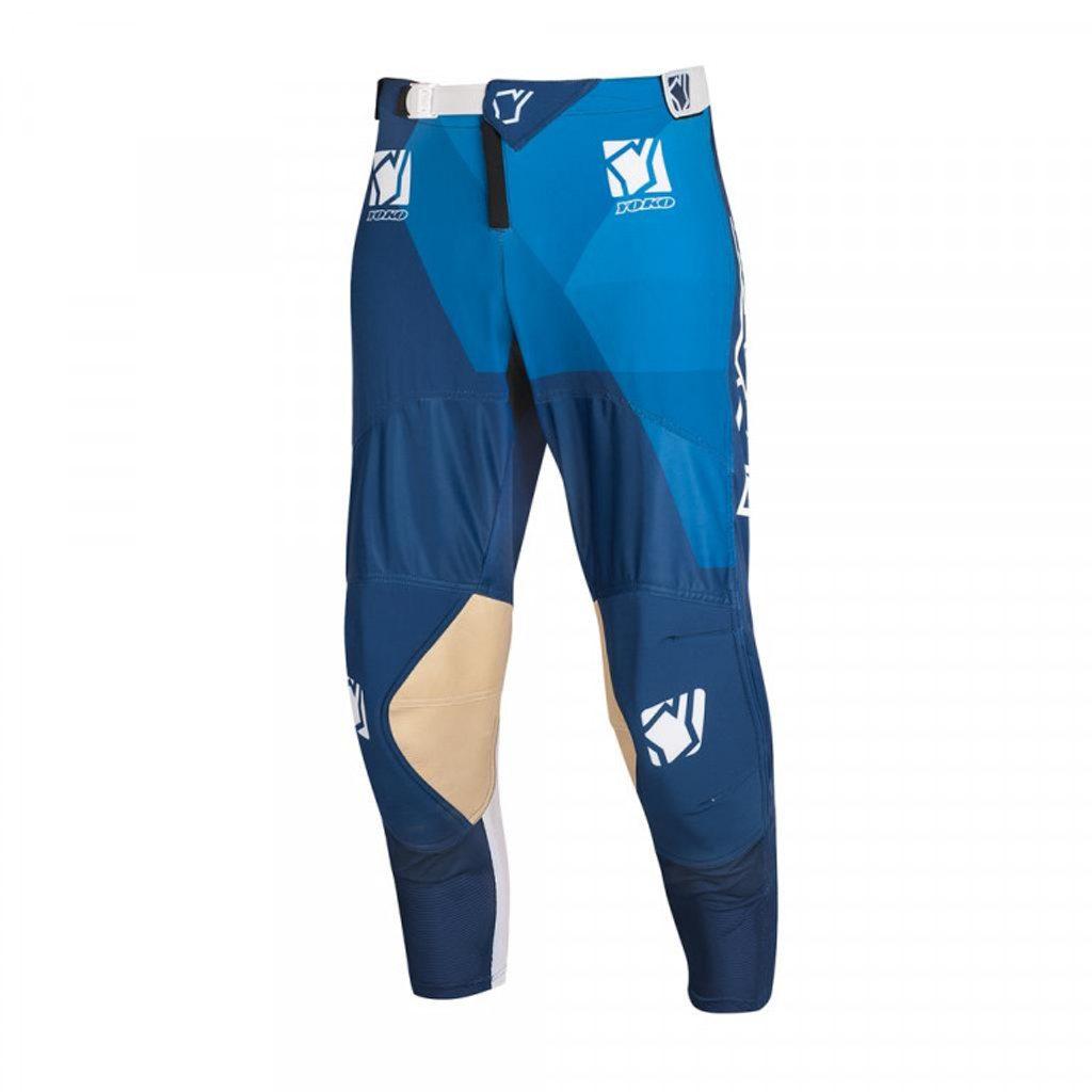 Motokrosové nohavice YOKO KISA modrý