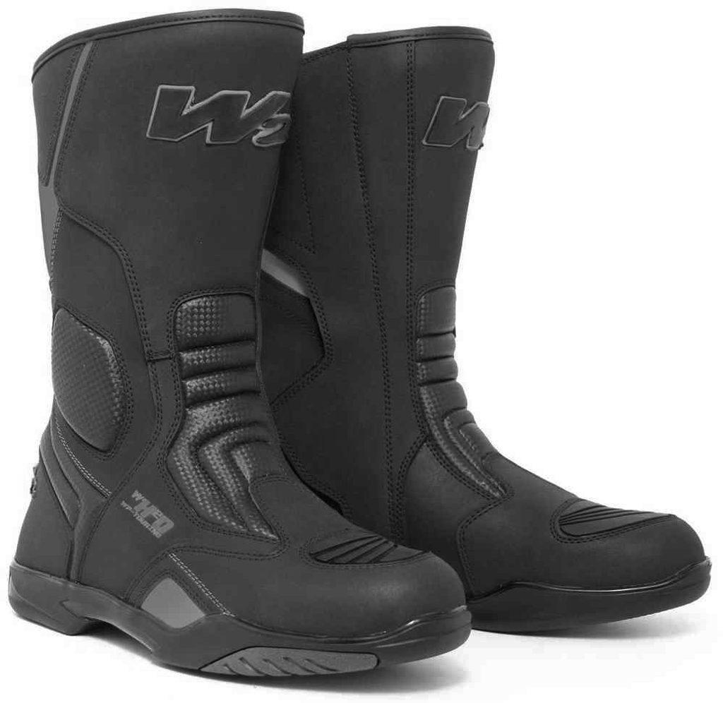 Cestovné pánske moto topánky W2 Ride-T, čierne