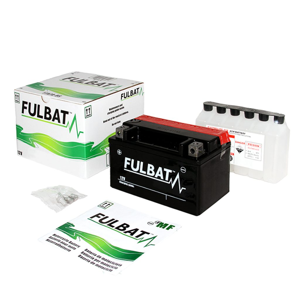 Bezúdržbový motocyklový akumulátor FULBAT FTX14-BS (YTX14-BS)