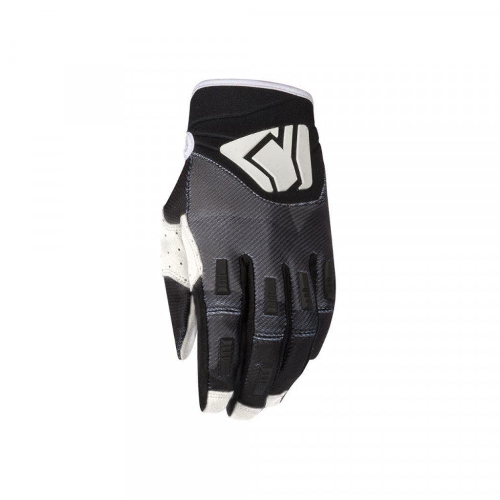 Detské motokrosové rukavice YOKO KISA čierno / biele