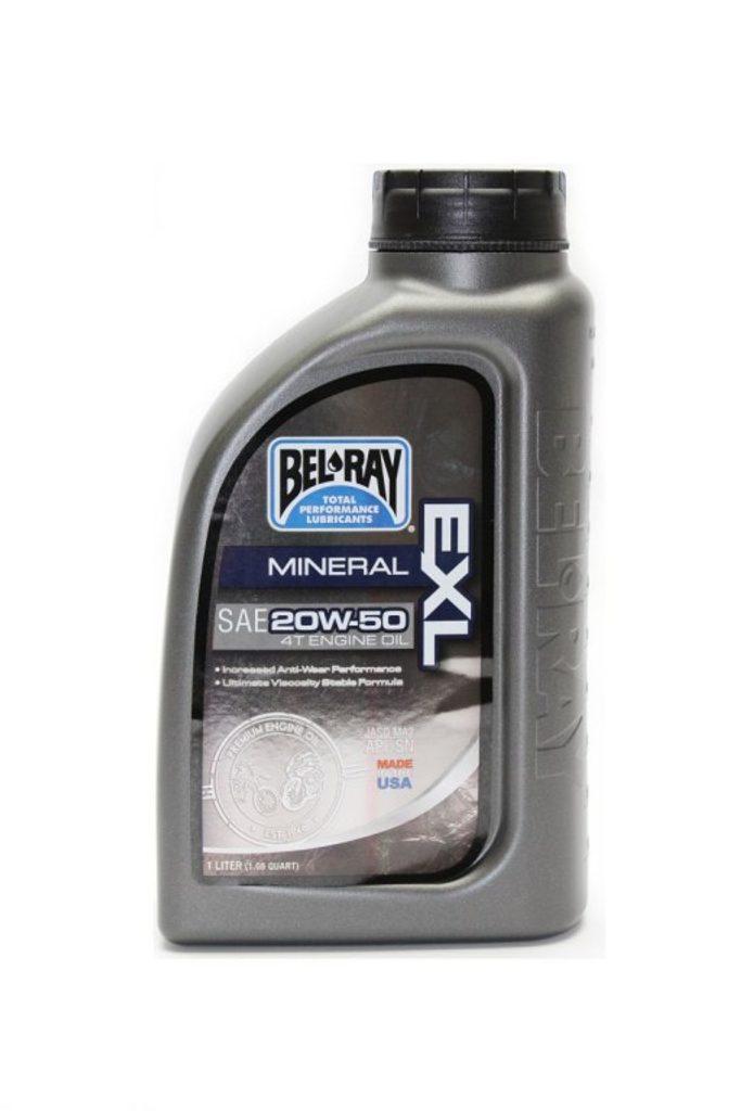 Motorový olej Bel-Ray EXL MINERAL 4T 20W-50 1 l