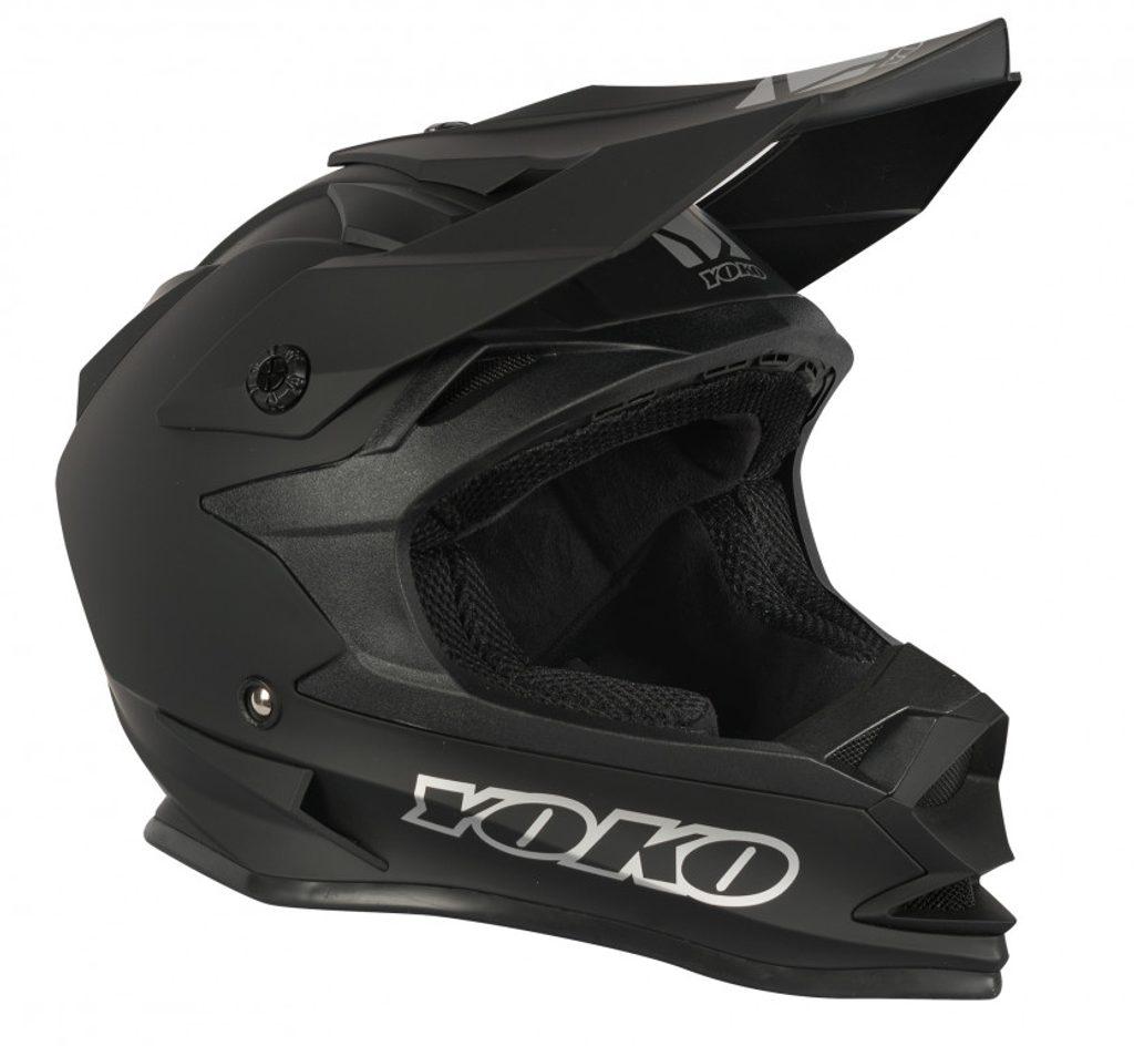 MX helmet YOKO SCRAMBLE matne čierny