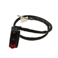 Motor function switch DOMINO with harness for 22 mm handlebar