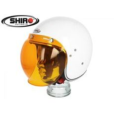 Bubble Visor SHIRO SH235 oranžová scratch proof