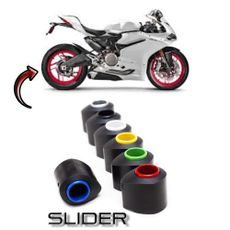 Protektory do zadní osy SLIDER - Ducati Monster 1000 S4R / RS/S2R