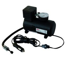 Portable air compressor JMT 12V 18 bar with pressure gauge