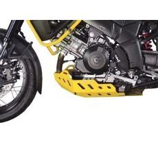 Aluminum Trail Engine Guard CROSS-PRO Ice matt