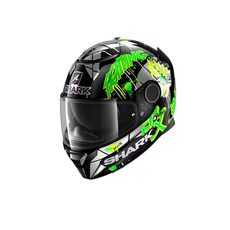 Spartan Replica Lorenzo Catalunya GP Black Green Glitter