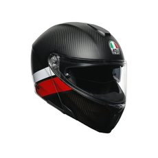 SPORTMODULAR MULTI E2205 - LAYER CARBON/RED/WHITE