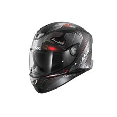 Skwall 2 Venger Mat Black Anthracite Red