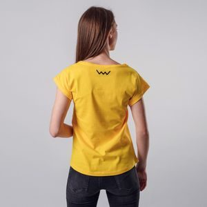 T-shirt Caryn Yellow
