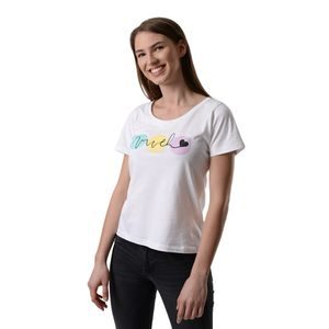 T-shirt White Vuch