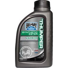 Motorový olej Bel-Ray THUMPER RACING WORKS SYNTHETIC ESTER 4T 10W-60 1 l