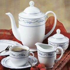 Coffee set for 6 persons (15 Pcs), Desiree 44935, Seltmann Porcelain