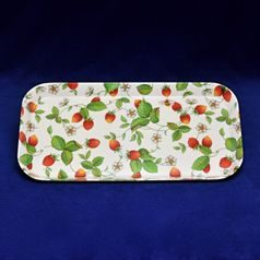 Alpine Strawberry: Plastic tray 30,5 cm, Roy Kirkham