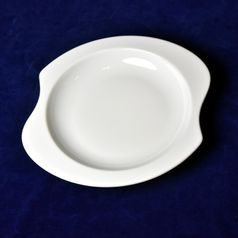 Plate deep curved 23 cm, Sketch Basic, Seltmann Porcelain