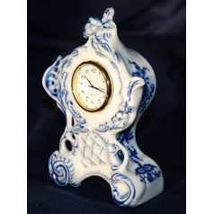 Clock mini Vlasta 12,5 cm, Original Blue Onion Pattern