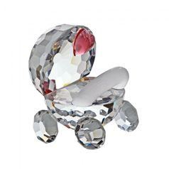 Pram (pink) 25 x 25 mm, Crystal Gifts and Decoration PRECIOSA