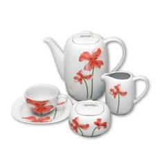 Coffee set for 6 persons, Thun 1794 Carlsbad porcelain, LEON 29791