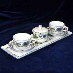 Friendly Coffee set for 2 pers., NEW! COLOURED ONION PATTERN