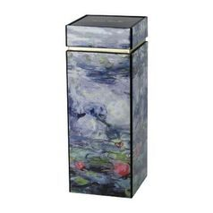 Box Waterlielies with Willow 20 cm, Metal, C. Monet Goebel Artis Orbis