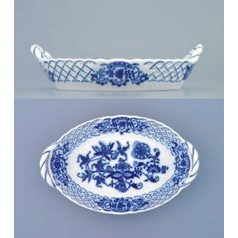 Basket perforated 16,5 cm, Original Blue Onion Pattern