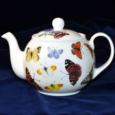 Butterfly Garden, Teapot 1,2 l, Roy Kirkham, English Fine Bone China