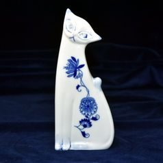 Cat 18,5 cm, Original Blue Onion Pattern