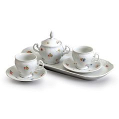Set for Friends 6 pcs., Thun 1794, porcelain, BERNARDOTTE hazenka