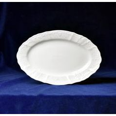 Frost no line: Dish oval 26 cm, Thun 1794 Carlsbad porcelain, Bernadotte