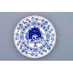 Annual plate 1991 19 cm, Original Blue Onion Pattern