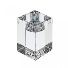 Candle holder medium - Zebra 80 x 50 mm, Crystal Gifts and Decoration  PRECIOSA