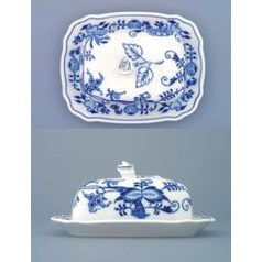 Butter dish 0,125 kg, Original Blue Onion Pattern