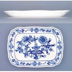 Butter dish - bottom 0,250 kg, Original Blue Onion Pattern