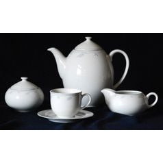 Coffee set for 6 persons, Thun 1794 Carlsbad porcelain, OPAL 80215