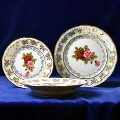 Plate set for 6 pers., Cecily, Frederyka porcelain