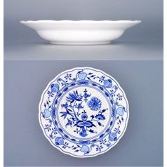 Plate deep 21 cm, Original Blue Onion Pattern
