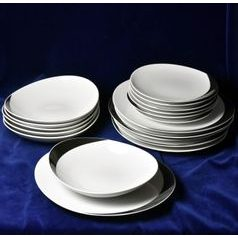 30283: Plate set for 6 pers., Thun 1794, Carlsbad porcelain, Loos