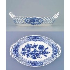 Basket perforated 18,5 cm, Original Blue Onion Pattern