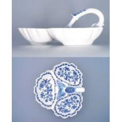 3-Compartment dish 30 cm, Original Blue Onion Pattern